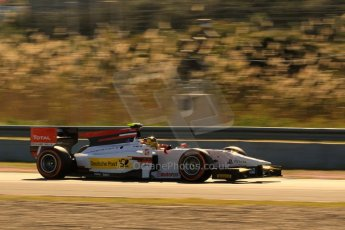 World © Octane Photographic Ltd. GP2 Winter testing, Jerez, 26th February 2013. ART Grand Prix – Daniel Abt. Digital Ref: 0580lw7d0053