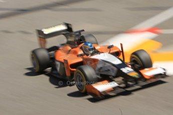 World © Octane Photographic Ltd. GP2 Monaco GP, Monte Carlo, Thursday 23rd May 2013. Practice and Qualifying. Adrian Quaife-Hobbs -  MP Motorsport. Digital Ref : 0693cb7d0919