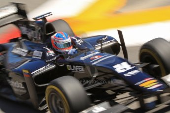 World © Octane Photographic Ltd. GP2 Monaco GP, Monte Carlo, Thursday 23rd May 2013. Practice and Qualifying. Rene Binder - Venezuela GP Lazarus. Digital Ref : 0693cb7d0947