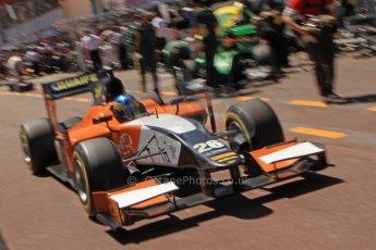 World © Octane Photographic Ltd. GP2 Monaco GP, Monte Carlo, Thursday 23rd May 2013. Practice and Qualifying. Adrian Quaife-Hobbs -  MP Motorsport. Digital Ref : 0693cb7d0991