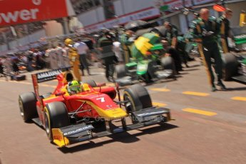 World © Octane Photographic Ltd. GP2 Monaco GP, Monte Carlo, Thursday 23rd May 2013. Practice and Qualifying. Julián Leal - Racing Engineering. Digital Ref: 0693cb7d0995
