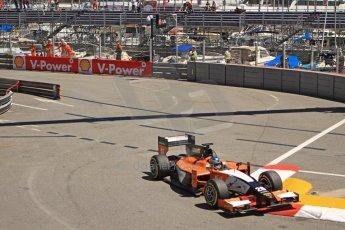 World © Octane Photographic Ltd. GP2 Monaco GP, Monte Carlo, Thursday 23rd May 2013. Practice and Qualifying. Adrian Quaife-Hobbs -  MP Motorsport. Digital Ref : 0693cb7d1045