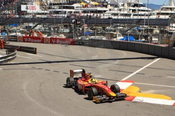 World © Octane Photographic Ltd. GP2 Monaco GP, Monte Carlo, Thursday 23rd May 2013. Practice and Qualifying. Julián Leal - Racing Engineering. Digital Ref: 0693cb7d1050