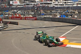 World © Octane Photographic Ltd. GP2 Monaco GP, Monte Carlo, Thursday 23rd May 2013. Practice and Qualifying. Sergio Canamasas – EQ8 Caterham Racing. Digital Ref: 0693cb7d1054