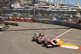 World © Octane Photographic Ltd. GP2 Monaco GP, Monte Carlo, Thursday 23rd May 2013. Practice and Qualifying. James Calado – ART Grand Prix. Digital Ref : 0693cb7d1056