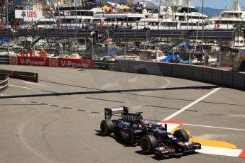 World © Octane Photographic Ltd. GP2 Monaco GP, Monte Carlo, Thursday 23rd May 2013. Practice and Qualifying. Rene Binder - Venezuela GP Lazarus. Digital Ref : 0693cb7d1059