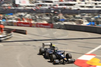 World © Octane Photographic Ltd. GP2 Monaco GP, Monte Carlo, Thursday 23rd May 2013. Practice and Qualifying. Kevin Giovesi - Venezuela GP Lazarus. Digital Ref : 0693cb7d1062