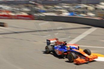 World © Octane Photographic Ltd. GP2 Monaco GP, Monte Carlo, Thursday 23rd May 2013. Practice and Qualifying. Robin Frijns - Hilmer Motorsport. Digital Ref : 0693cb7d1076