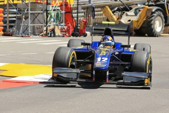 World © Octane Photographic Ltd. GP2 Monaco GP, Monte Carlo, Thursday 23rd May 2013. Practice and Qualifying. Tom Dillmann– Russian TIME. Digital Ref : 0693lw1d7344
