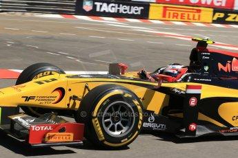 World © Octane Photographic Ltd. GP2 Monaco GP, Monte Carlo, Thursday 23rd May 2013. Practice and Qualifying. Stephan Richelmi - DAMS. Digital Ref : 0693lw1d7450