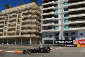 World © Octane Photographic Ltd. GP2 Monaco GP, Monte Carlo, Thursday 23rd May 2013. Practice and Qualifying. Kevin Giovesi - Venezuela GP Lazarus. Digital Ref : 0693lw1d7581