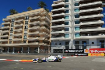 World © Octane Photographic Ltd. GP2 Monaco GP, Monte Carlo, Thursday 23rd May 2013. Practice and Qualifying. Nathanaël Berthon - Trident Racing. Digital Ref : 0693lw1d7614