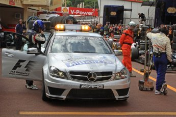 World © Octane Photographic Ltd. GP2 Monaco GP, Monte Carlo, Friday 24th May. F1 Medical car. Digital Ref : 0697cb7d1612