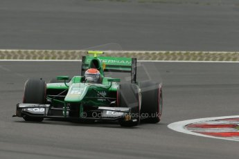 World © Octane Photographic Ltd. GP2 German GP, Nurburgring, Friday 5th July 2013. Qualifying. Alexander Rossi – EQ8 Caterham Racing..Digital Ref : 0742lw1d5345