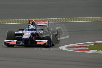 World © Octane Photographic Ltd. GP2 German GP, Nurburgring, Friday 5th July 2013. Qualifying. Jolyon Palmer - Carlin. Digital Ref : 0742lw1d5395