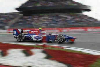 World © Octane Photographic Ltd. GP2 German GP, Nurburgring, 6th July 2013. Race 1. Jolyon Palmer - Carlin. Digital Ref : 0746lw1d4573