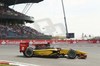 World © Octane Photographic Ltd. GP2 German GP, Nurburgring, 6th July 2013. Race 1.Stephan Richelmi - DAMS. Digital Ref : 0746lw1d4664