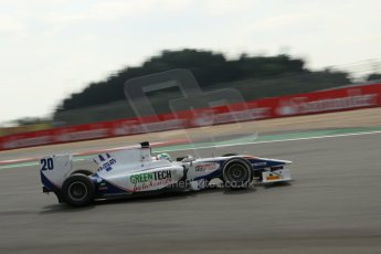 World © Octane Photographic Ltd. GP2 German GP, Nurburgring, 6th July 2013. Race 1.Nathanaël Berthon - Trident Racing. Digital Ref : 0746lw1d4688