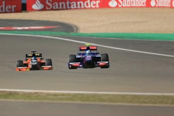 World © Octane Photographic Ltd. GP2 German GP, Nurburgring, Sunday 7th July 2013. Race 2. Jolyon Palmer - Carlin. Digital Ref : 0747lw1d8123