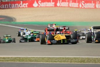 World © Octane Photographic Ltd. GP2 German GP, Nurburgring, Sunday 7th July 2013. Race 2. Stephan Richelmi - DAMS. Digital Ref : 0747lw1d8153