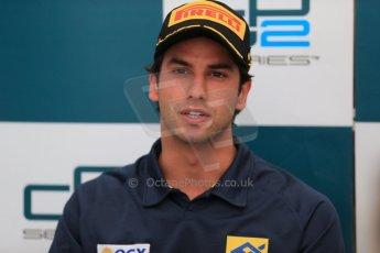 World © Octane Photographic Ltd. GP2 Spain Race 1 Press Conference - 11th May 2013. Felipe Nasr - Carlin. Digital Ref :
