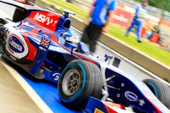 World © Octane Photographic Ltd. GP2 British GP, Silverstone, Friday 28th June 2013. Practice. Jolyon Palmer - Carlin. Digital Ref : 0725ce1d6587