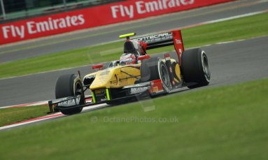 World © Octane Photographic Ltd. GP2 British GP, Silverstone, Friday 28th June 2013. Practice. Stephan Richelmi - DAMS. Digital Ref : 0725cj7d0662