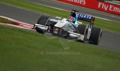 World © Octane Photographic Ltd. GP2 British GP, Silverstone, Friday 28th June 2013. Practice. Jake Rosenzweig - Barwa Addax Team. Digital Ref : 0725cj7d0699
