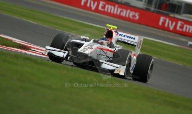 World © Octane Photographic Ltd. GP2 British GP, Silverstone, Friday 28th June 2013. Practice. Simon Trummer – Rapax. Digital Ref : 0725cj7d0706