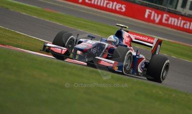 World © Octane Photographic Ltd. GP2 British GP, Silverstone, Friday 28th June 2013. Practice. Jolyon Palmer - Carlin. Digital Ref : 0725cj7d0720