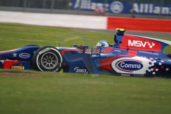 World © Octane Photographic Ltd. GP2 British GP, Silverstone, Friday 28th June 2013. Practice. Jolyon Palmer - Carlin. Digital Ref : 0725cj7d0725