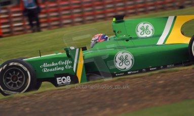 World © Octane Photographic Ltd. GP2 British GP, Silverstone, Friday 28th June 2013. Practice. Alexander Rossi – EQ8 Caterham Racing..Digital Ref : 0725cj7d0742
