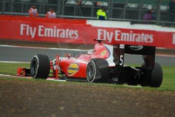 World © Octane Photographic Ltd. GP2 British GP, Silverstone, Friday 28th June 2013. Practice. Johnny Cecotto – Arden International. Digital Ref : 0725cj7d0752