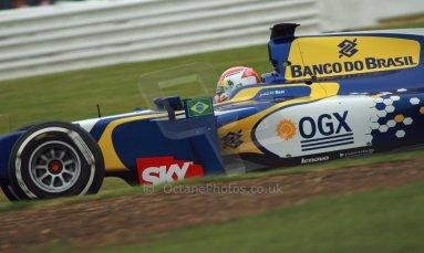 World © Octane Photographic Ltd. GP2 British GP, Silverstone, Friday 28th June 2013. Practice. Felipe Nasr - Carlin. Digital Ref :  0725cj7d0762