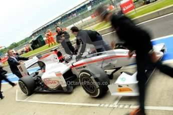World © Octane Photographic Ltd. GP2 British GP, Silverstone, Friday 28th June 2013. Qualifying. Stefano Coletti – Rapax. Digital Ref : 0727ce1d7355