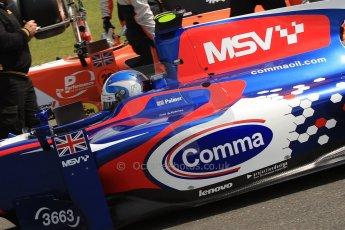 World © Octane Photographic Ltd./Chris Enion. GP2 British GP, Silverstone, Saturday 29th June 2013. Race 1. Jolyon Palmer - Carlin. Digital Ref : 0731ce1d8343