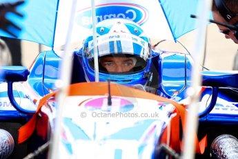 World © Octane Photographic Ltd./Chris Enion. GP2 British GP, Silverstone, Saturday 29th June 2013. Race 1. Jolyon Palmer - Carlin. Digital Ref : 0731ce1d8372