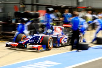 World © Octane Photographic Ltd./Chris Enion. GP2 British GP, Silverstone, Saturday 29th June 2013. Race 1. Jolyon Palmer - Carlin. Digital Ref : 0731ce1d8501