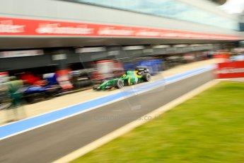 World © Octane Photographic Ltd./Chris Enion. GP2 British GP, Silverstone, Saturday 29th June 2013. Race 1. Sergio Canamasas – EQ8 Caterham Racing. Digital Ref: 0731ce1d8516