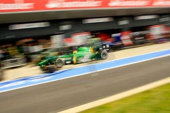 World © Octane Photographic Ltd./Chris Enion. GP2 British GP, Silverstone, Saturday 29th June 2013. Race 1. Sergio Canamasas – EQ8 Caterham Racing. Digital Ref: 0731ce1d8520