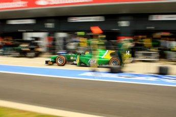 World © Octane Photographic Ltd./Chris Enion. GP2 British GP, Silverstone, Saturday 29th June 2013. Race 1. Sergio Canamasas – EQ8 Caterham Racing. Digital Ref: 0731ce1d8536