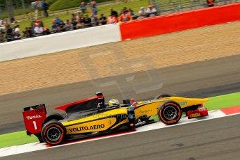 World © Octane Photographic Ltd./Chris Enion. GP2 British GP, Silverstone, Saturday 29th June 2013. Race 1. Marcus Ericsson - DAMS. Digital Ref : 0731ce1d8677