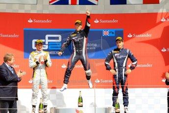 World © Octane Photographic Ltd./Chris Enion. GP2 British GP, Silverstone, Saturday 29th June 2013. Race 1. Sam Bird – Russian TIME. Digital Ref : 0731ce1d8785