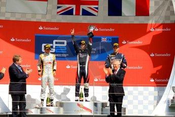 World © Octane Photographic Ltd./Chris Enion. GP2 British GP, Silverstone, Saturday 29th June 2013. Race 1. Sam Bird – Russian TIME. Digital Ref : 0731ce1d8806