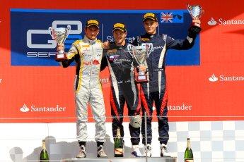 World © Octane Photographic Ltd./Chris Enion. GP2 British GP, Silverstone, Saturday 29th June 2013. Race 1. Sam Bird – Russian TIME. Digital Ref : 0731ce1d8824