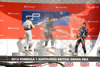 World © Octane Photographic Ltd./Chris Enion. GP2 British GP, Silverstone, Saturday 29th June 2013. Race 1. Sam Bird – Russian TIME. Digital Ref : 0731ce1d8842
