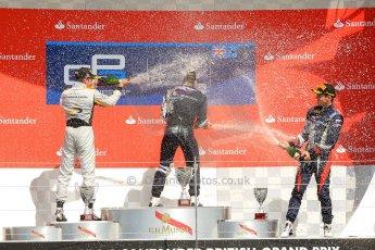 World © Octane Photographic Ltd./Chris Enion. GP2 British GP, Silverstone, Saturday 29th June 2013. Race 1. Sam Bird – Russian TIME. Digital Ref : 0731ce1d8847