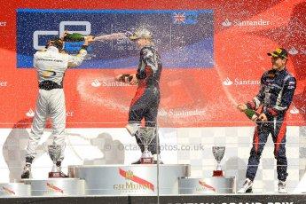 World © Octane Photographic Ltd./Chris Enion. GP2 British GP, Silverstone, Saturday 29th June 2013. Race 1. Sam Bird – Russian TIME. Digital Ref : 0731ce1d8850
