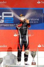 World © Octane Photographic Ltd./Chris Enion. GP2 British GP, Silverstone, Saturday 29th June 2013. Race 1. Sam Bird – Russian TIME. Digital Ref : 0731ce1d8863