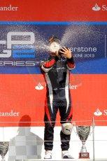 World © Octane Photographic Ltd./Chris Enion. GP2 British GP, Silverstone, Saturday 29th June 2013. Race 1. Sam Bird – Russian TIME. Digital Ref : 0731ce1d8865